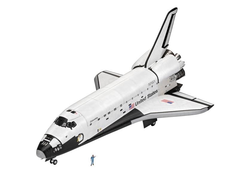 Geschenkset Space Shuttle zum 40ten Jahrestag