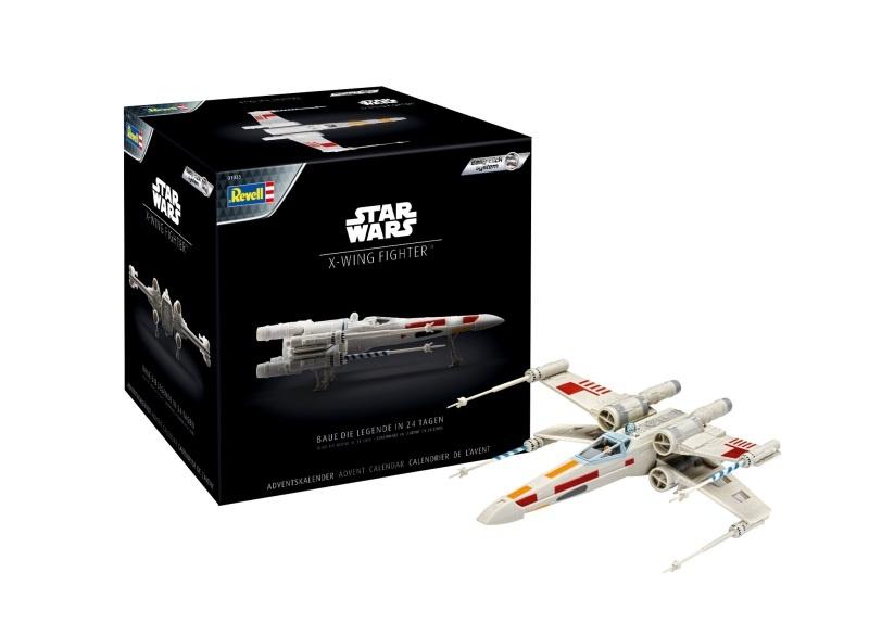 Adventskalender Star Wars X-wing Fighter 1:57