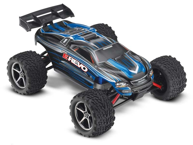 E-Revo RTR Brushed +12V-Lader 1/16 4WD Racing Truck