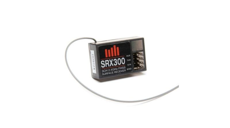 SRX300 3-Kanal 2.4 GHz FHSS RX Empfänger