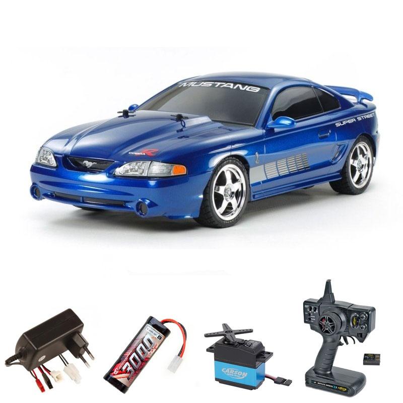 Mustang SVT Cobra R 95 4WD 1/10 TT-01E 2,4Ghz Komplettset