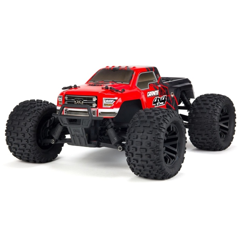 GRANITE MEGA 550 Brushed 4WD MT 1:10 RTR rot/schwarz