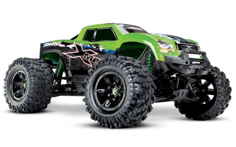 X-MAXX 8S 4WD Brushless Monstertruck TSM RTR GrünX