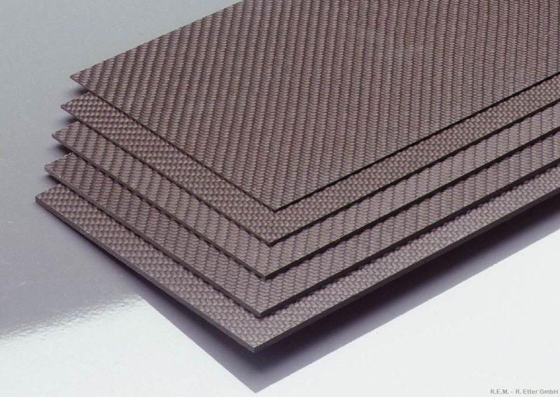 350x150x1.5 mm Carbon-Platte
