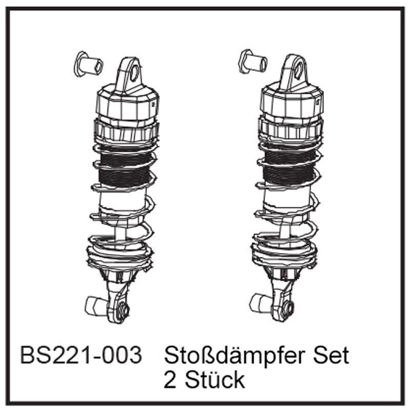 Stoßdämpfer Set (2 Stück) - BEAST BX / TX