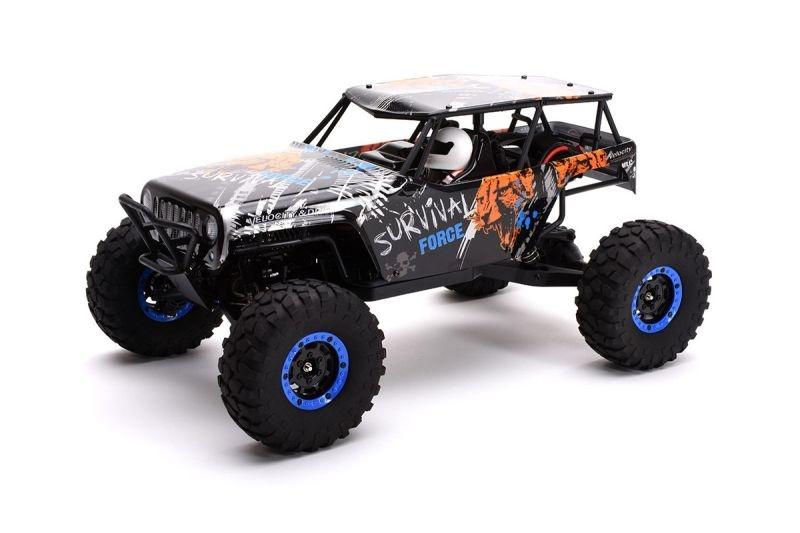 Survival 1:10 4WD Rock Crawler RTR 2,4GHz mit Akku und Lader
