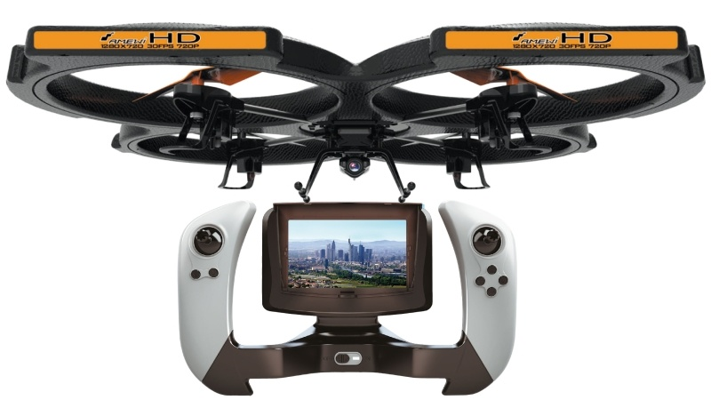 UFO AM X51 FPV Quadrocopter 2.4 GHz inkl. HD Cam etc.