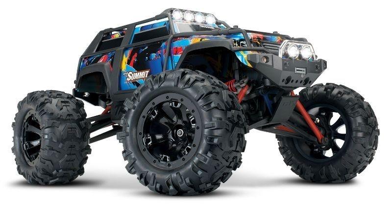 Summit 4WD Monstertruck 1/16 mit Licht RocknRoll 100% RTR