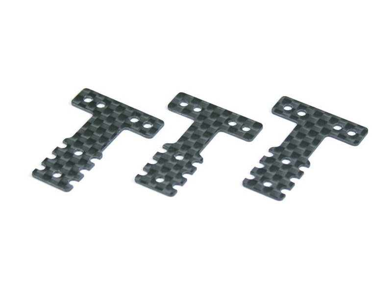 Aufhängungsplatte (T) CFK für Mini-Z MR03 MM/LM