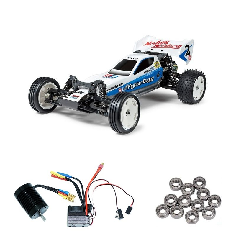 Neo Fighter DT-03 2WD Buggy Brushless-Edition + Kugellager