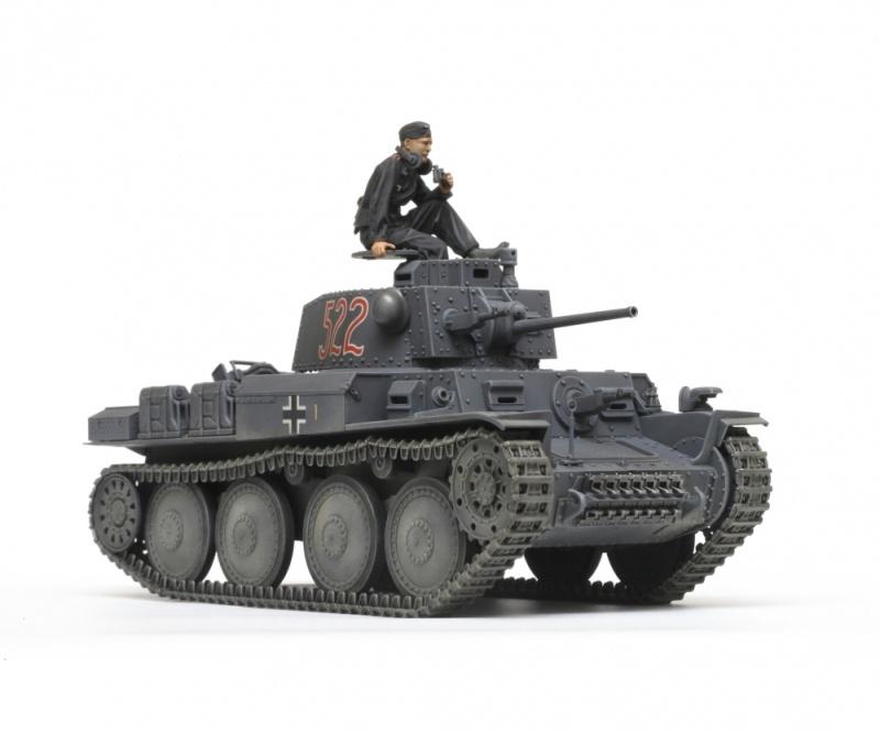 Deutscher Panzerkampfwagen 38 (t) E/F 1:35 Plastik Bausatz
