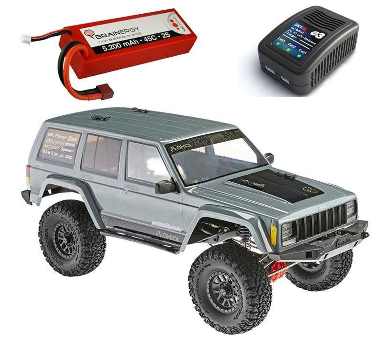SCX10 II 2000 Jeep® Cherokee 4WD RTR 1/10 + LiPo & Ladegerät