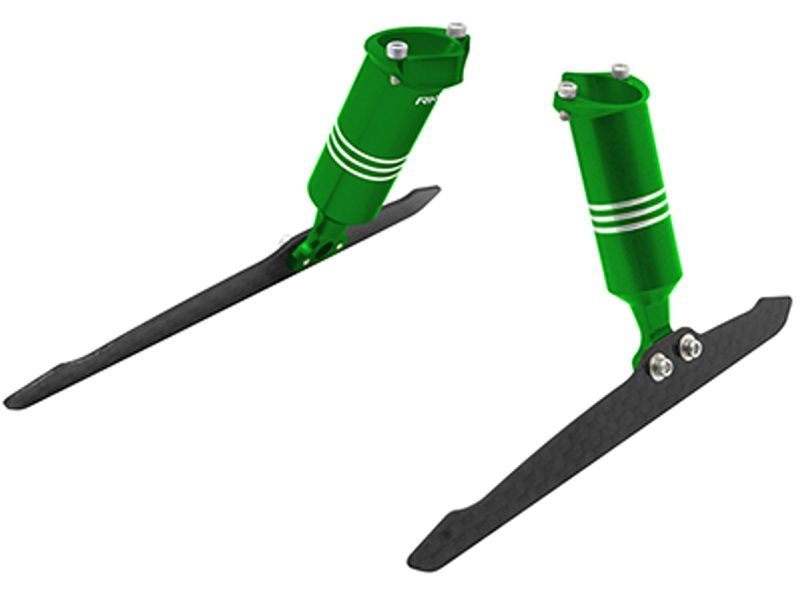 CNC AL Landing Gear Set (Green) 200QX