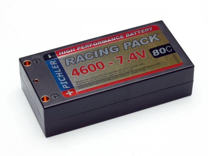 LiPo Akku Racing Pack 4600 mAh - 7,4 V SHORTY