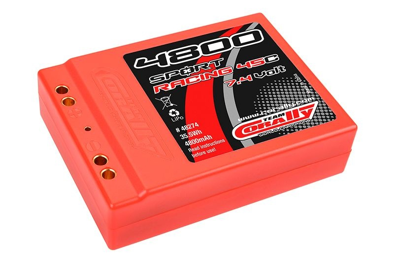 LiPo Akku Square Stick Sport Racing 45C 4800mAh 2S 7,4V