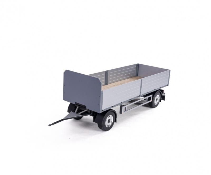 2-Achs Baustoff-Anhänger 1:14