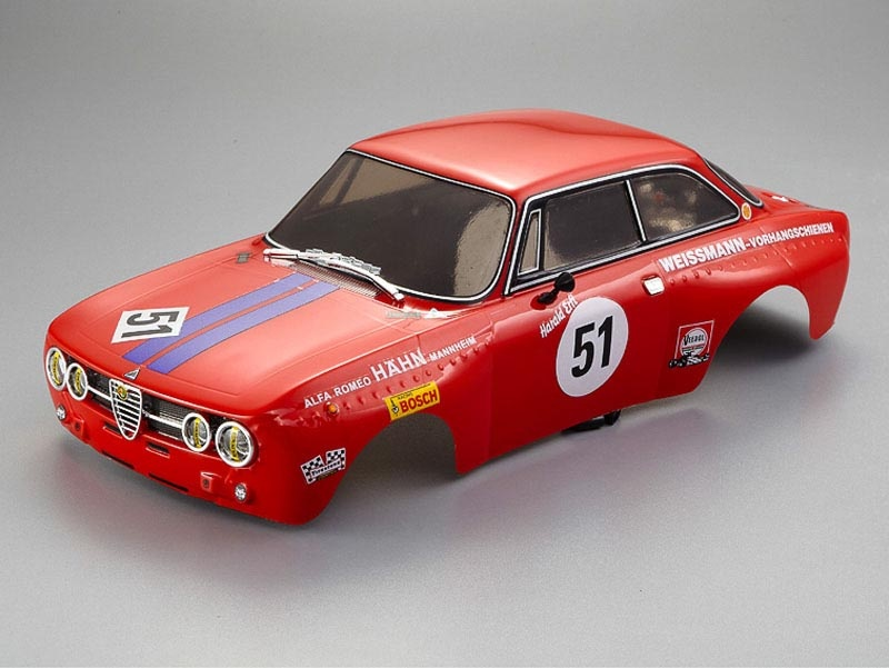 Alfa Romeo 2000 GTAm, Rot, RTU all-in