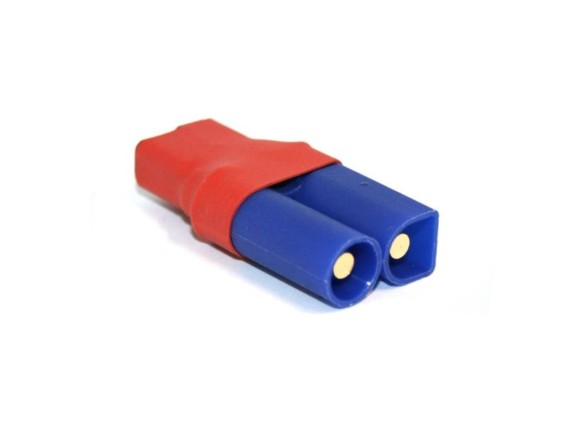 Adapter - Kompakte Version - EC5 Stecker zu Deans-Buchse