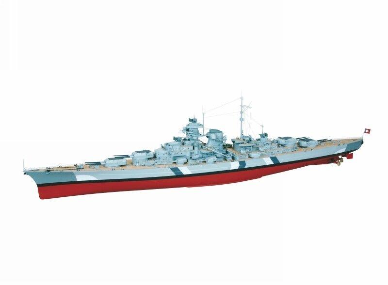 WP BISMARCK Schlachtschiff Masstab 1:150