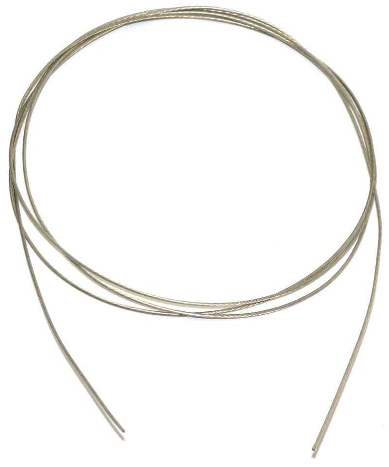 Stahlseil 0,5mm soft - silikonbeschichtet - (3m)