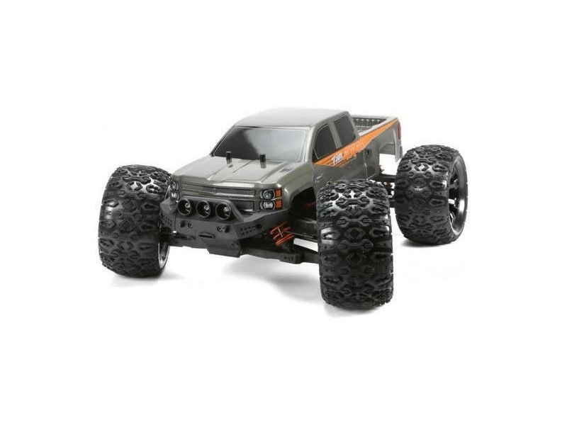 E5 1/10 Monster Truck 4WD RTR Brushless WP grau