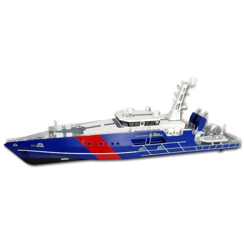 St George Küstenschutzschiff Baukasten 1:48