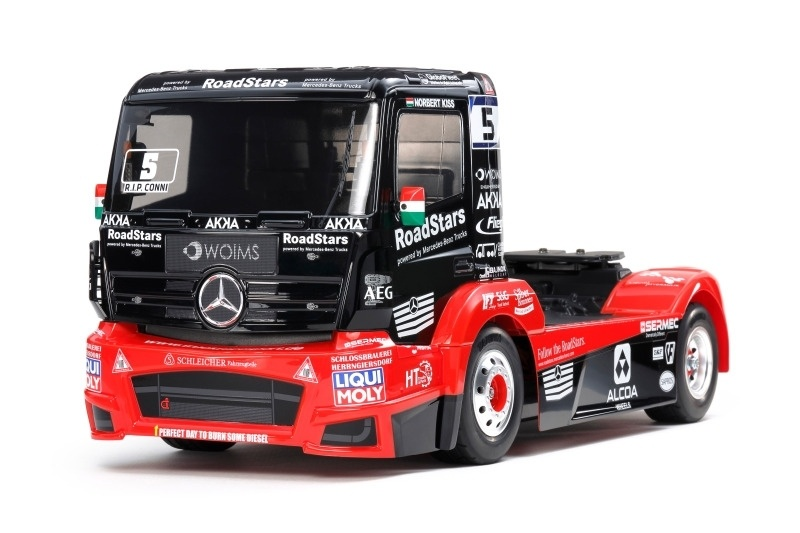 Mercedes Race Truck Tankpool 24 MP4 4WD TT-01E 1:14 Bausatz
