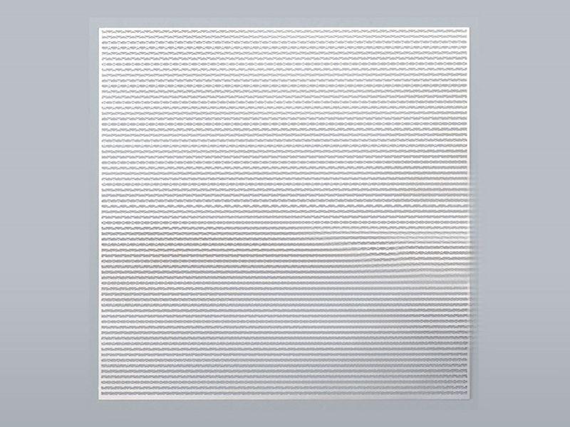 Edelstahl Gitternetz aus 100x100mm, Typ Mixy silber