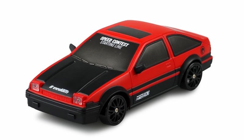Drift Sport Car 1:24 rot, 4WD 2,4 GHz RTR