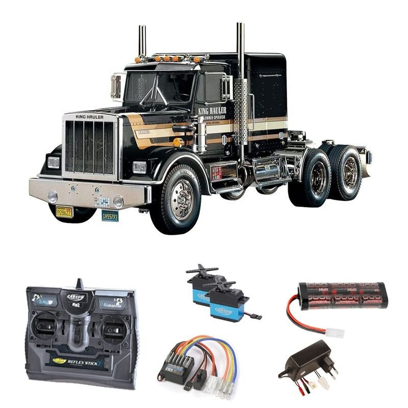 Truck King Hauler Black Edition 2,4GHz Komplettset