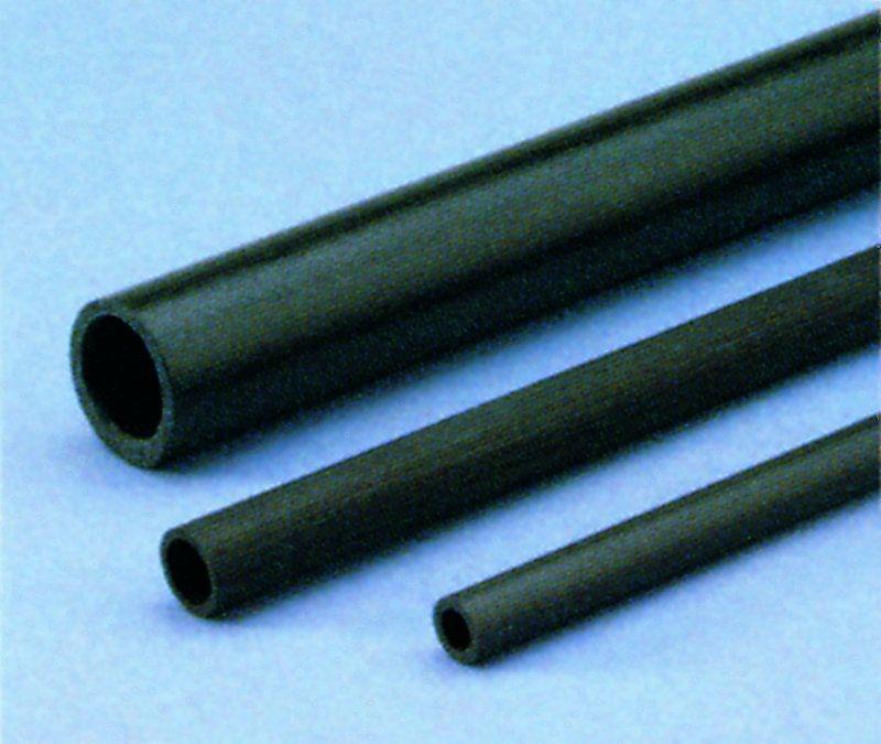 Kohlefaser Rohr 3x2x1000mm