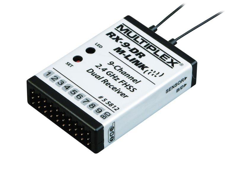 Empfänger RX9DR MLINK 2,4 GHz