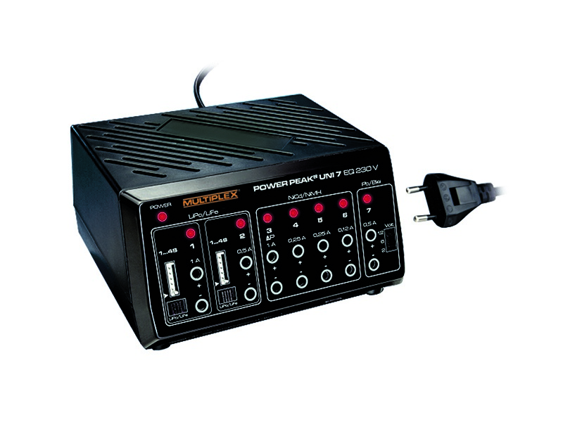 Power Peak Uni 7 EQ, 230V