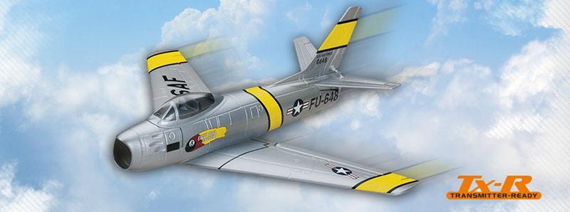 Micro F-86 Sabre (Tx-R) Brushless Impeller