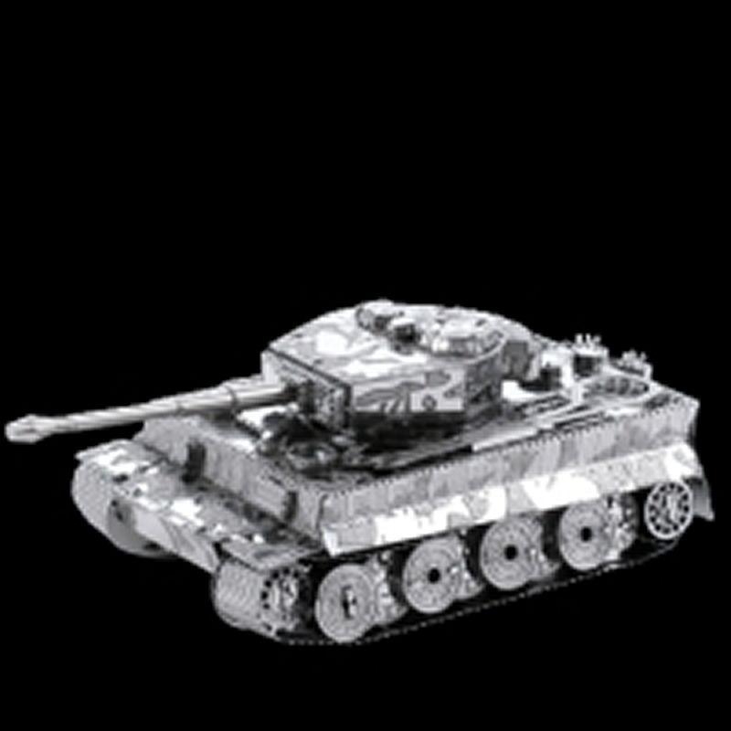 Panzer Tiger Metall-Bausatz