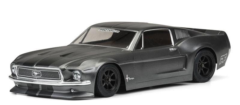 Karosserie (klar) 1968 Ford Mustang 1/10 Onroad VTA Klasse