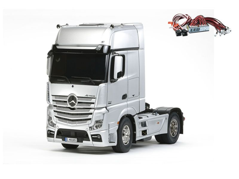 Mercedes Benz Actros 1851 GigaSpace + LED-light set