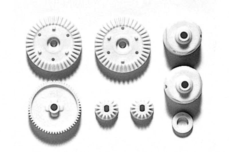 G-Teile Getriebe - TT-01