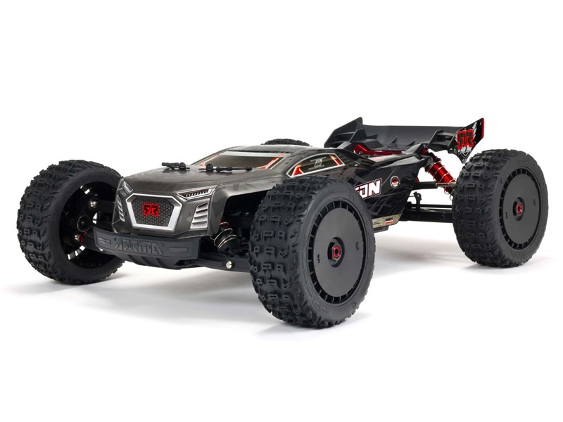 TALION 6S BLX 1/8 4WD EXtreme Bash Speed Truggy RTR black
