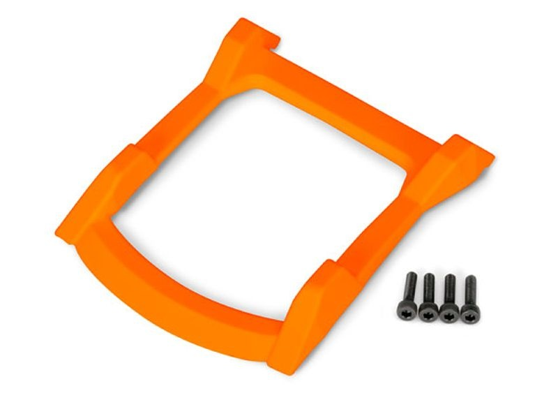 Unterfahrschutz Dach (Karosserie) für Rustler 4x4, orange