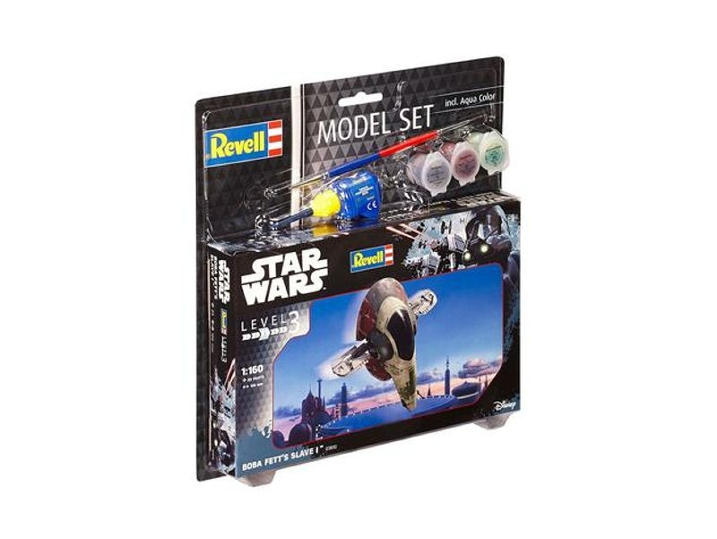 Model Set Boba Fetts Slave I 1:160