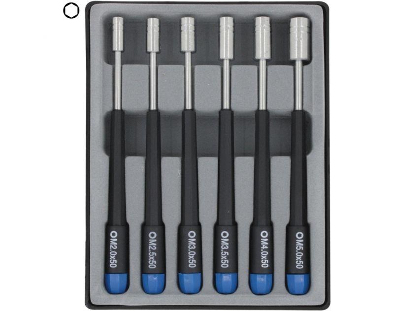 Innensechskant-Steckschlüssel-Set 6-teilig 4,0-8,0mm