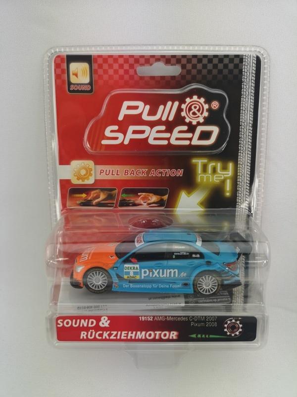 Pull & speed 1:43 mit Rückziehmotor AMG Mercedes C-DTM 2007