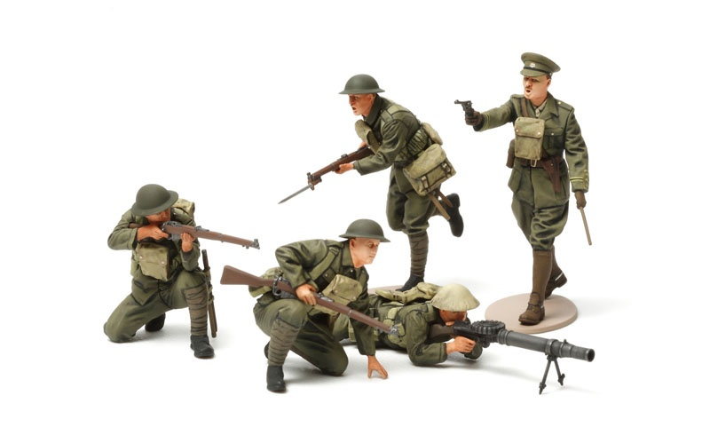 1:35 WWI British Infantrie Set