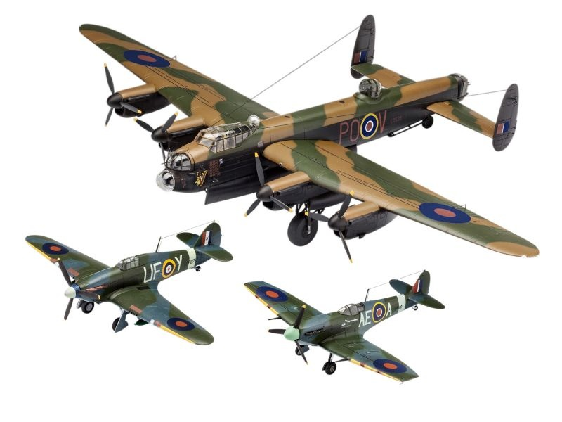 British Legends - Gift Set Flugzeug Plastik Bausatz 1/72