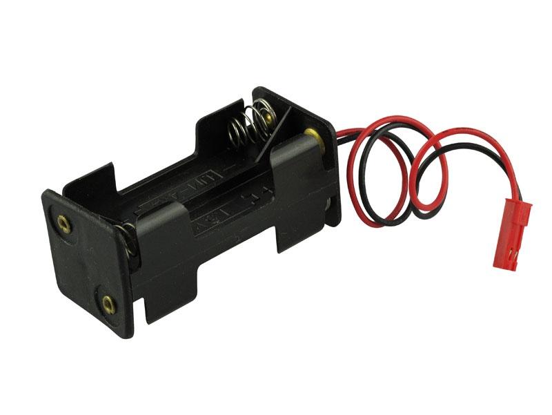 Batterie-Box kompatibel mit JST BEC  4 x AA