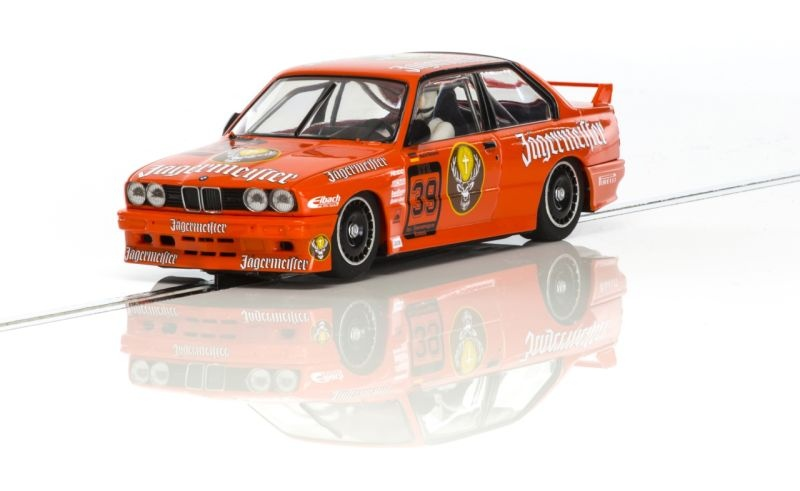 BMW M3 E30 DTM Jägermeister HD Slotcar 1/32