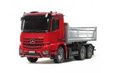 Mercedes Arocs 3348 Hinterkipper rot/silber