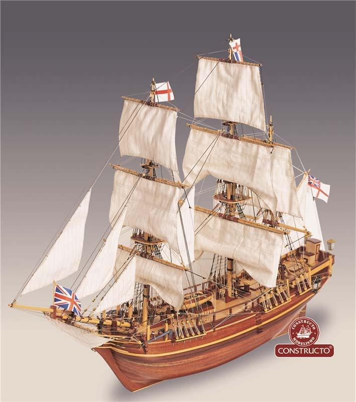 H.M.S Bounty 1:50 Serie Atlantis