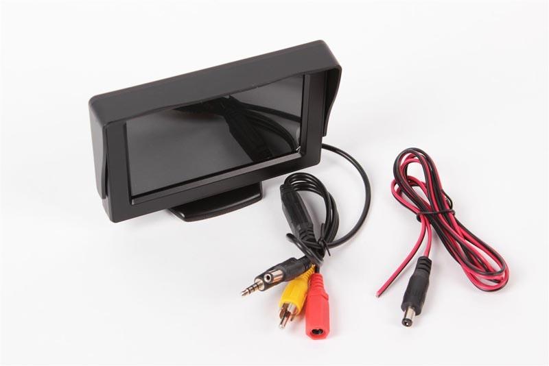 4,3 LCD-TFT Monitor für FPV-Einsatz 350cd 12V
